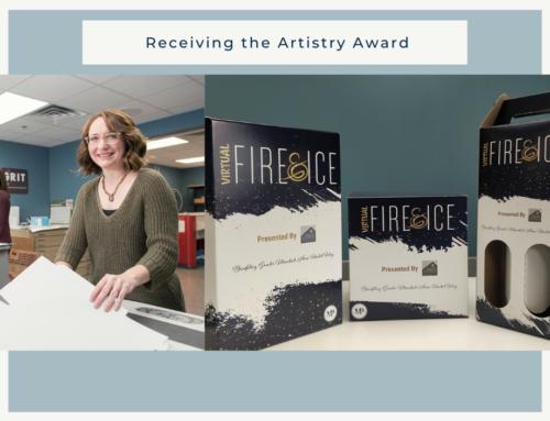 Employee Spotlight: Receiving the Artistry Award